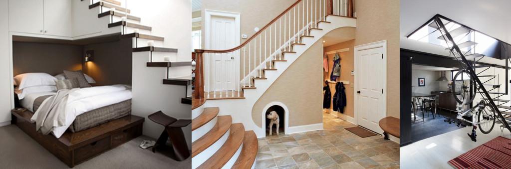 під-сходами